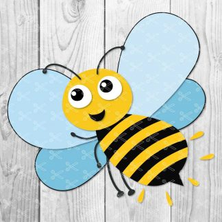 Honey Bee SVG Cut File