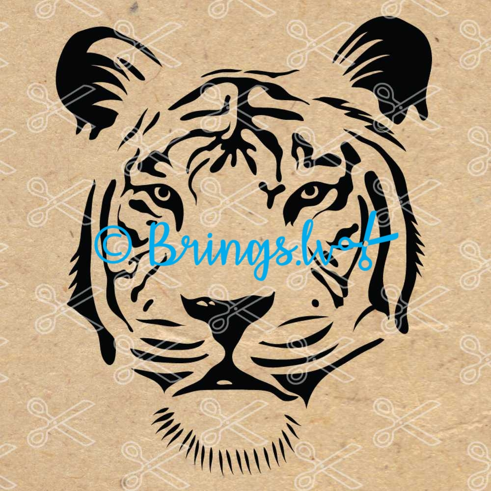 Tiger SVG Cut File