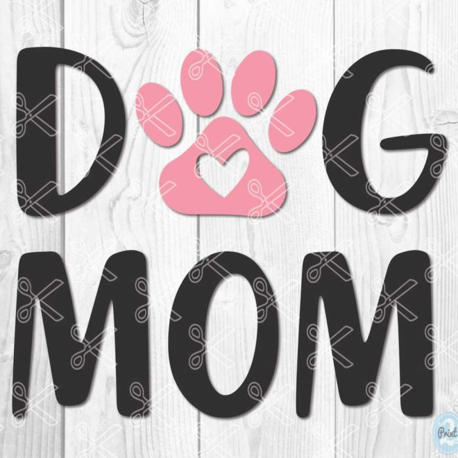 Dog Mom SVG