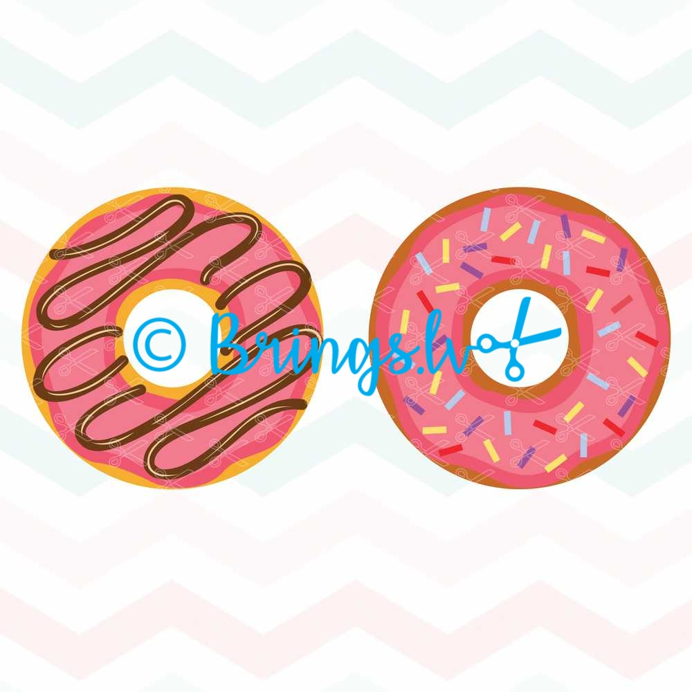 Donut SVG Cut File