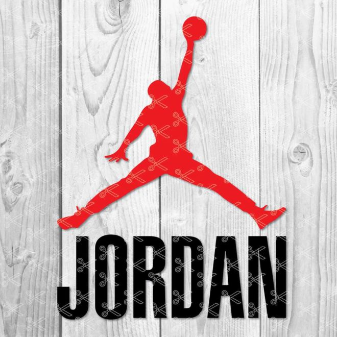 Jordan SVG Cut File
