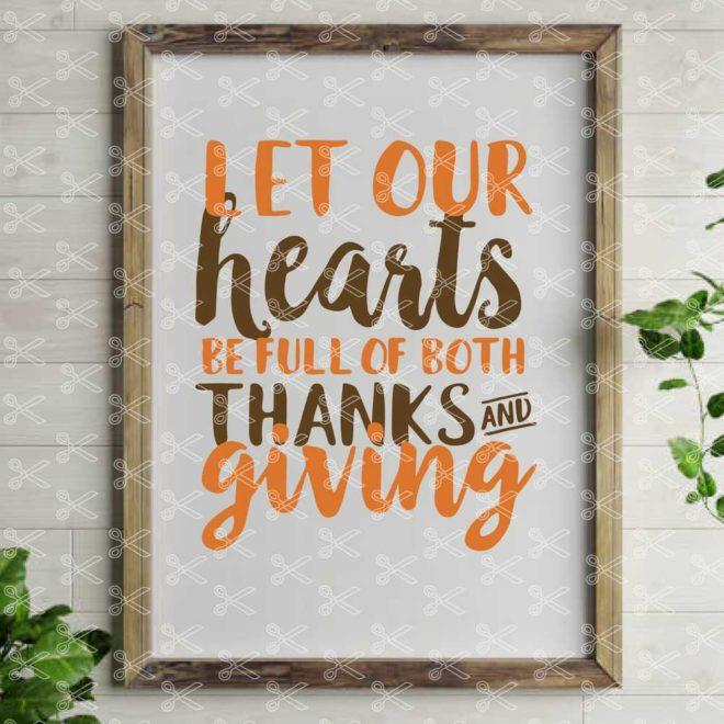 Thanksgiving SVG