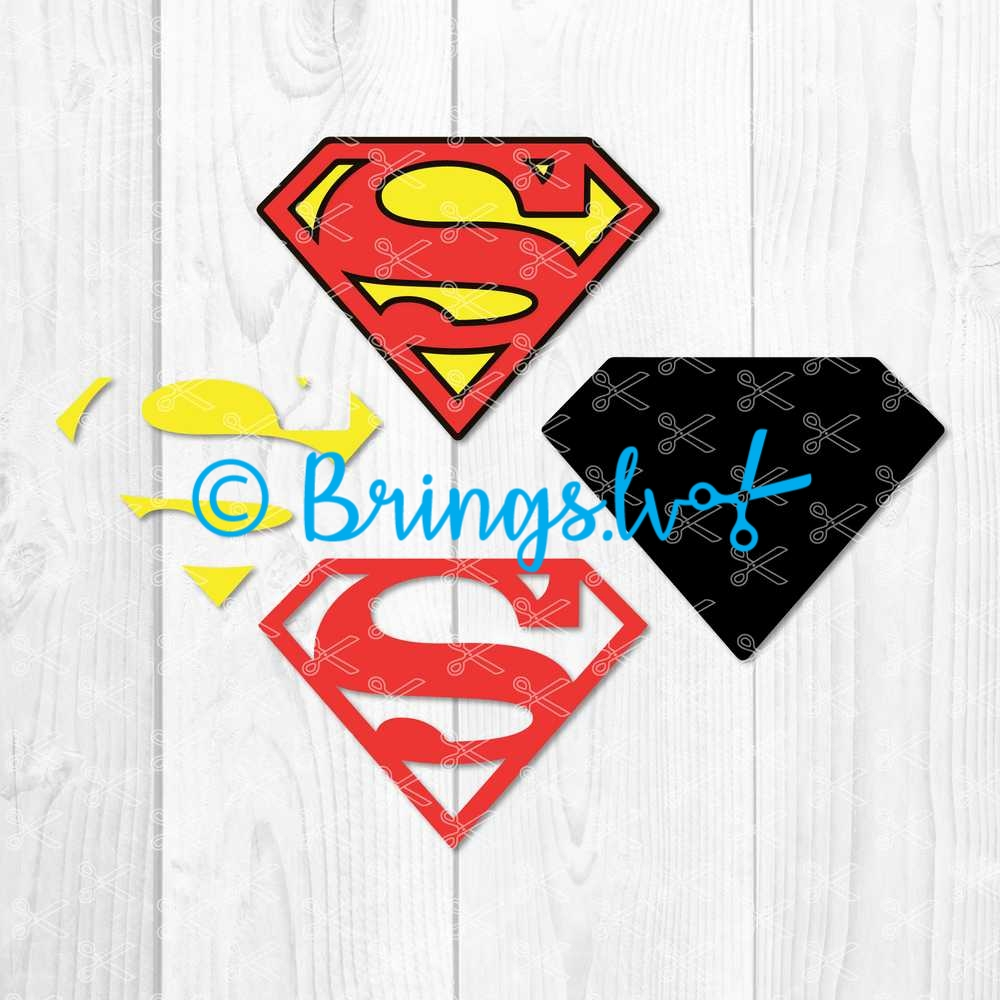 superman svg - Superman SVG DXF PNG Cut Files - Superhero SVG