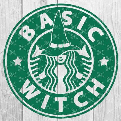 BASIC WITCH SVG