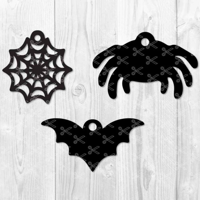 Halloween Earring SVG