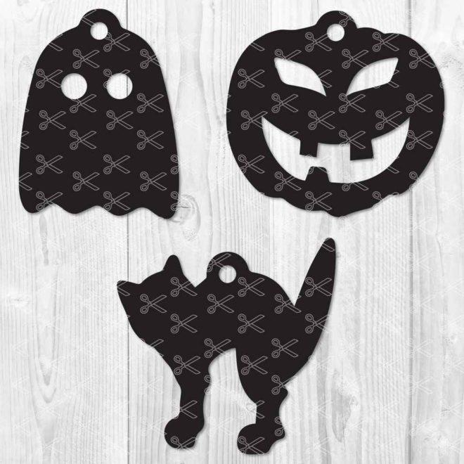 Halloween Earrings SVG