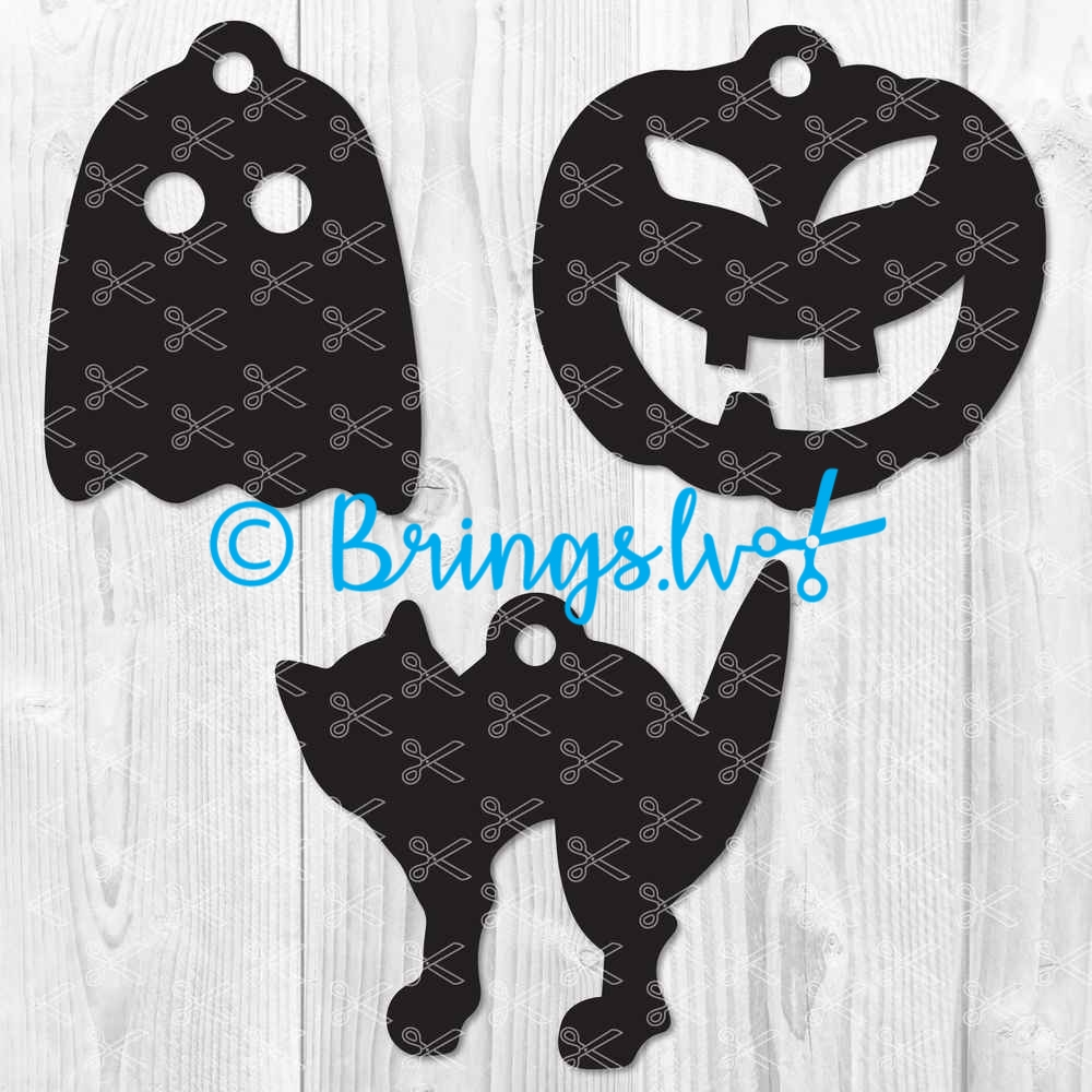 Halloween Earrings SVG