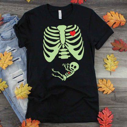 Pregnancy Skeleton SVG