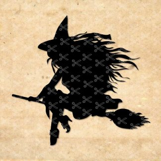 Halloween Witch SVG
