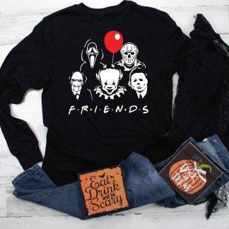Horror movie Friends SVG