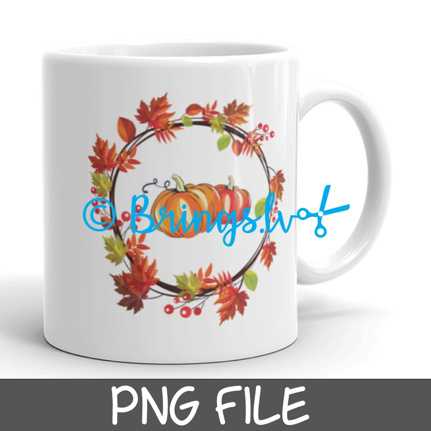 Sublimation PNG File - Fall Design