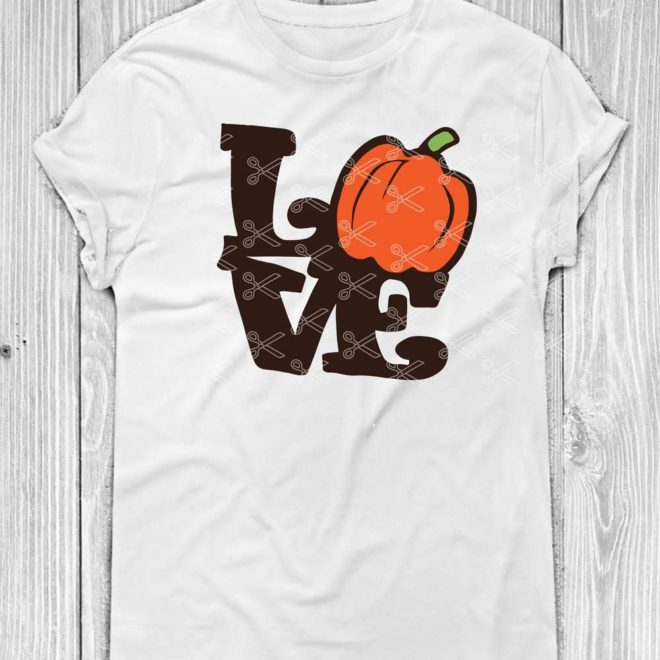 Pumpkin Love SVG