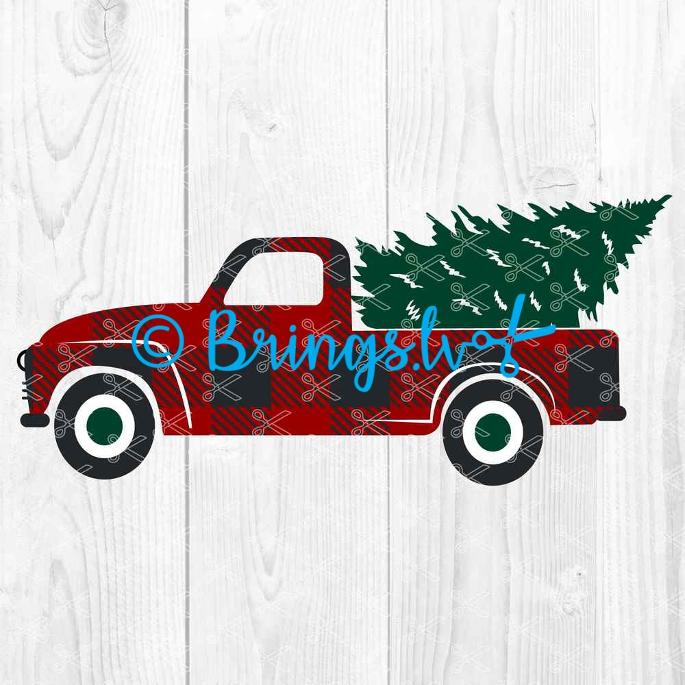 Christmas Truck SVG