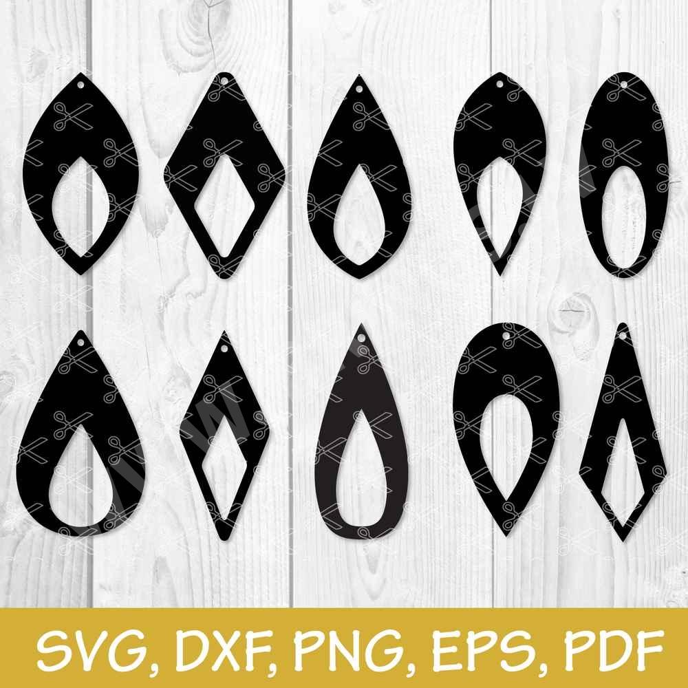 Earrings Template