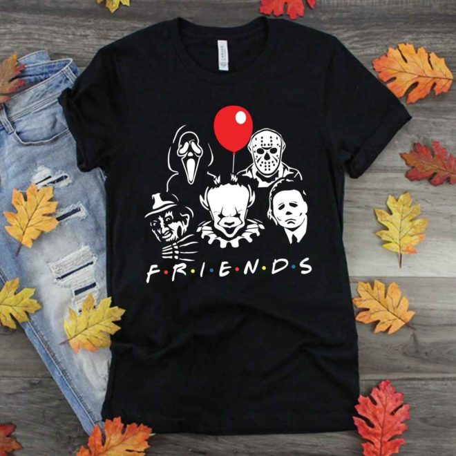 Friends Halloween Horror Team SVG
