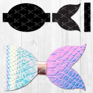 Mermaid Bow SVG