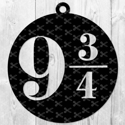 PLATFORM 9 3/4 SVG