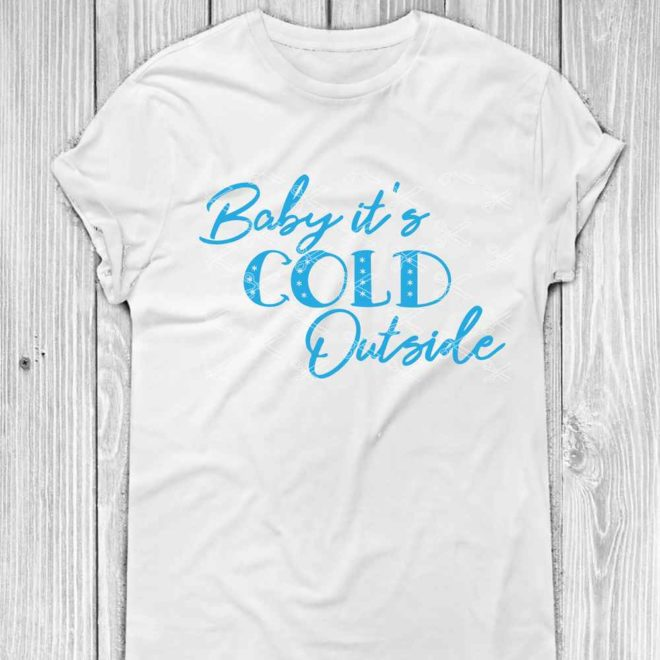Baby it's cold outside SVG