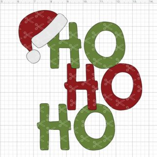 Christmas Ho Ho Ho SVG
