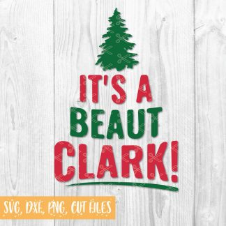 Its a Beaut Clark SVG