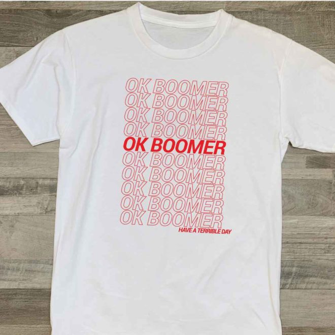 Ok Boomer Meme SVG