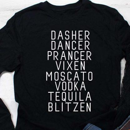 Dasher Dancer Prancer SVG