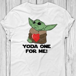 Baby Yoda One For Me Valentine's Day SVG