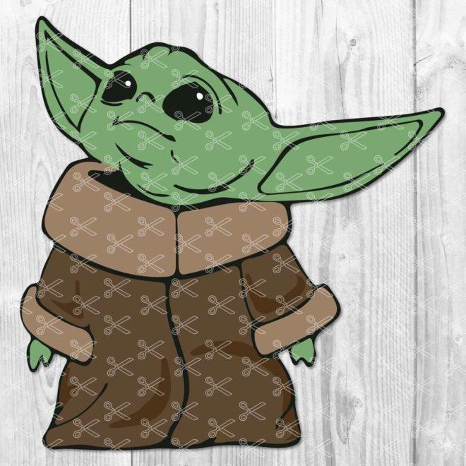 Baby Yoda svg
