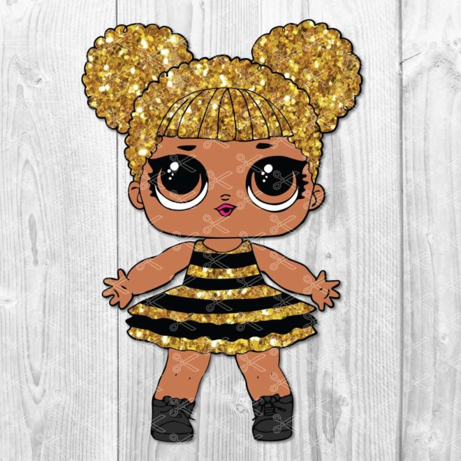 BumbleBee Queen Bee Surprise L.O.L. Doll SVG