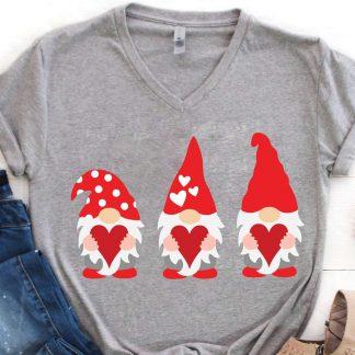 Valentine Gnome SVG Cut File