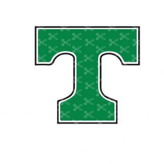Letter T SVG