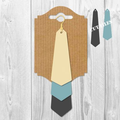 LONG TRIANGLE STACKED EARRINGS SVG