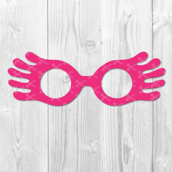 Luna LoveGood Glasses SVG