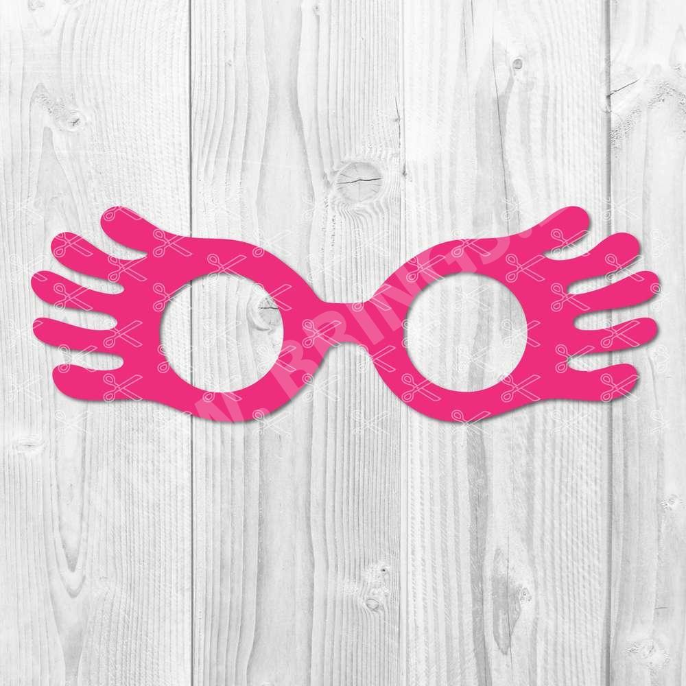 Luna LoveGood Glasses SVG