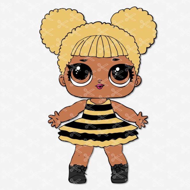 Queen Bee LOL Surprise SVG