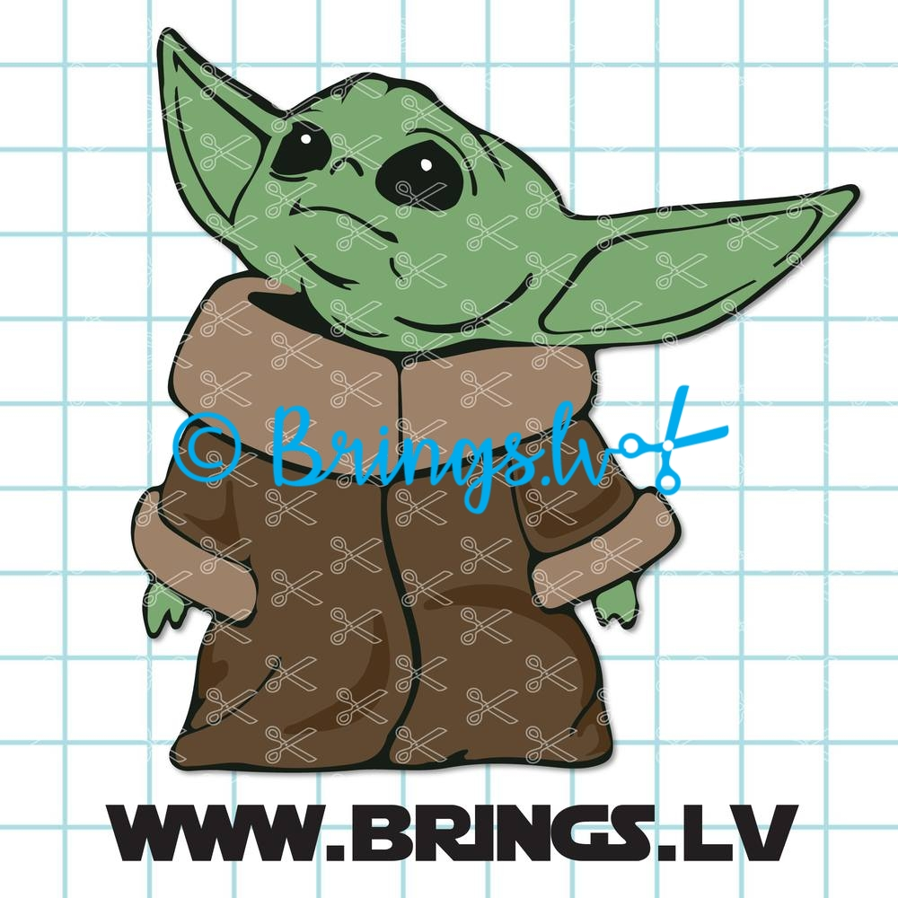 Svg Files Clipart Baby Yoda Svg