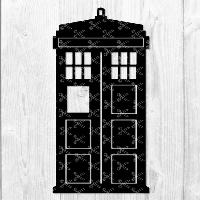Dr Who SVG Tardis SVG