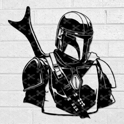 The Mandalorian Star Wars SVG