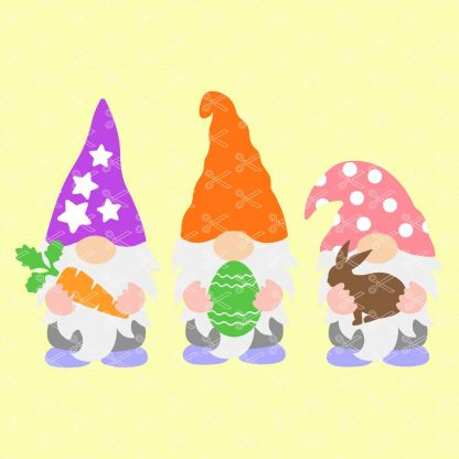 EASTER GNOME SVG