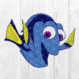 Finding Dory SVG
