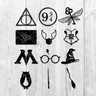 Harry Potter SVG BUNDLE