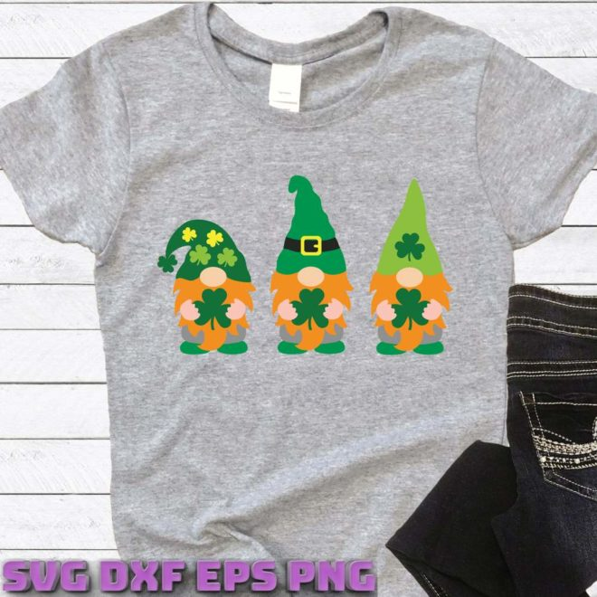 Irish Gnomes Svg