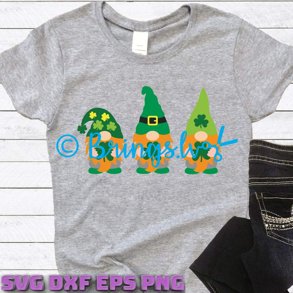 Irish Gnomes Svg
