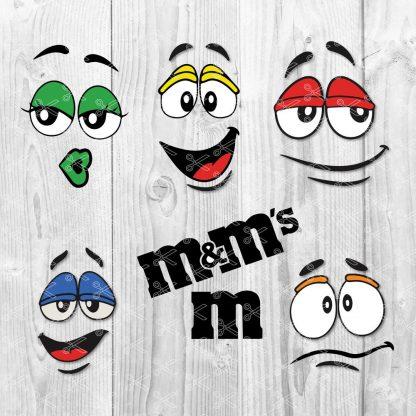 M&M SVG bundle