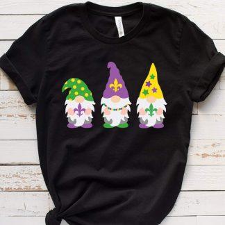 Mardi Gras Gnomes Svg