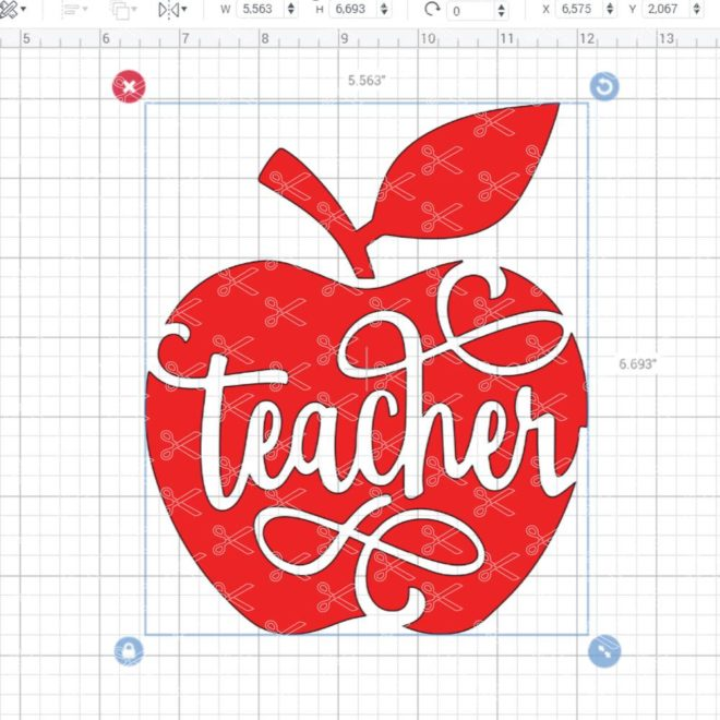 Teacher Life SVG