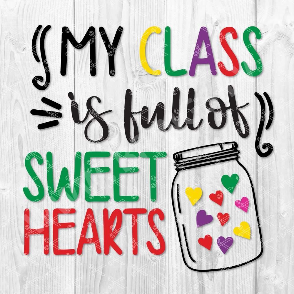 Teacher Love SVG
