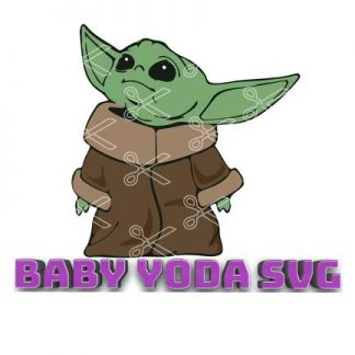 Baby Yoda SVG - The Mandalorian The Child