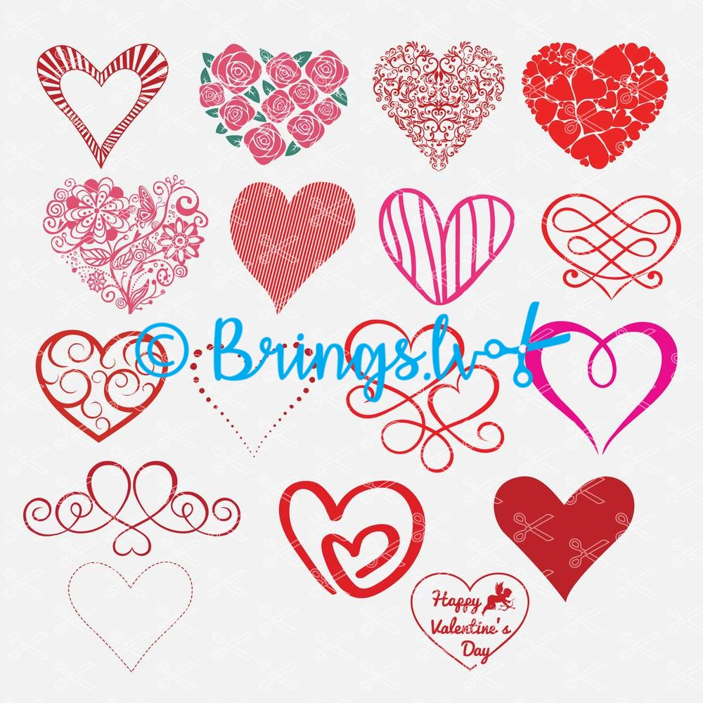 Heart SVG Bundle