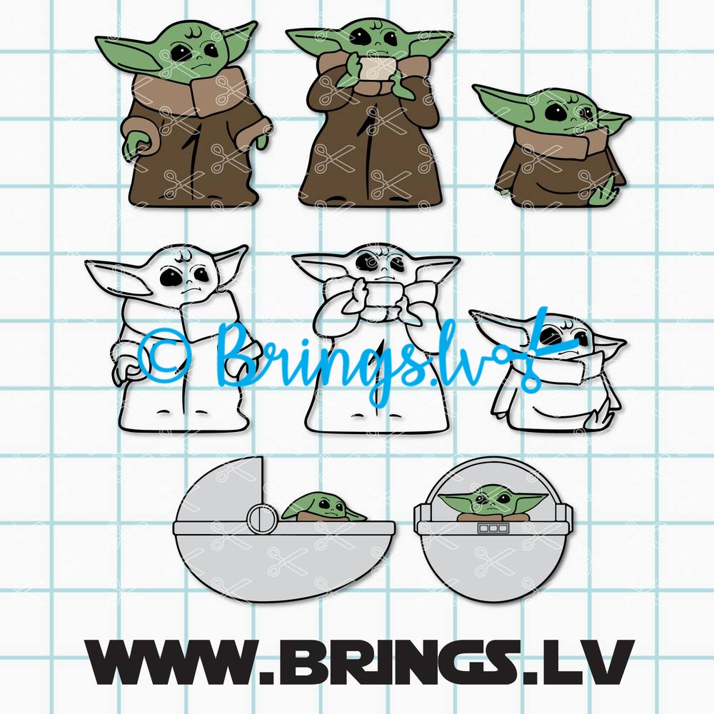 Yoda Svg Archives High Quality Vector Design Svg Dxf Png Cut Files